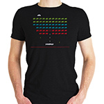 Space Invaders TSHIRT - Black