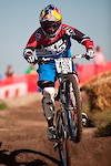 Jill Kintner racing to victory in the 2010 Sea Otter Dual Slalom