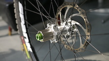 First Look: Spank and DT Swiss Working on Magnetic Drive Hubs