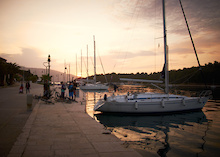 Sailing and Biking on the Croatian Coastline