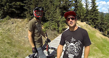 Video: Red Bull Joyride Course Preview With Brandon Semenuk