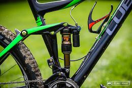 EWS Bike Check: Greg Callaghan's Cube Stereo