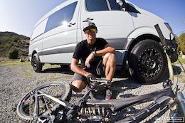 Brian Lopes' Custom Sprinter Van