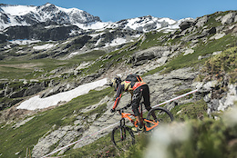 Helmet Cam Preview With Andrew Neethling - EWS Round 4, La Thuile, Italy