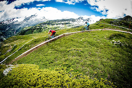 The Gehrig Twins at the Enduro World Series La Thuile - Video