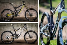 GT 2014: Four models of the Fury - and Two Trailbikes: 650B Sensor and Force
