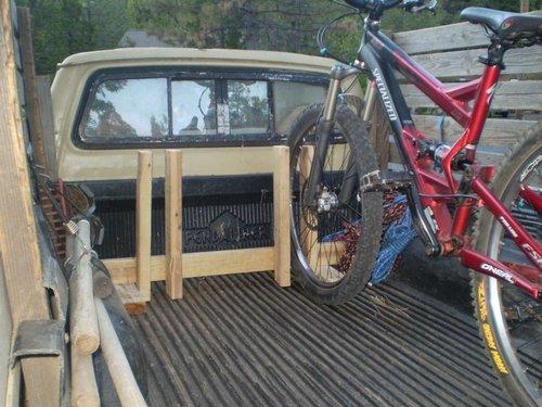 Homemade Kayak Racks For Trucks My home made bike rack. *Updated* - Pinkbike Forum