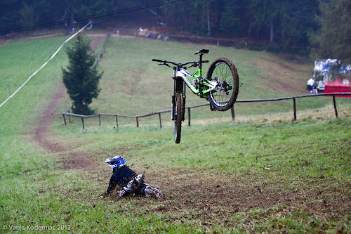 ...during UCI C1  race & Slovenian DHI Cup 2012 #1