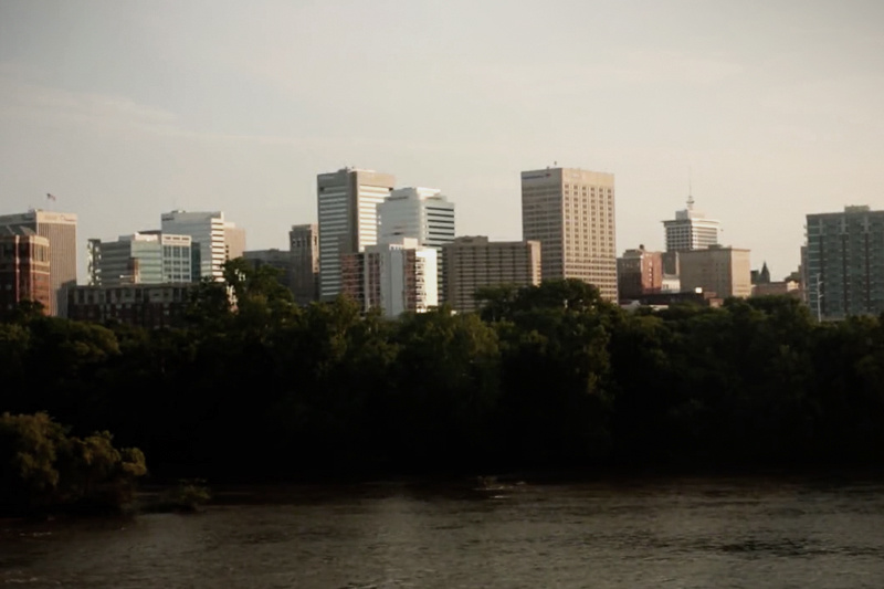 Richmond VA skyline.
