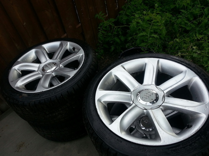 VWVortex.com - Audi TT OEM Factory 'turbine' wheels 18x9