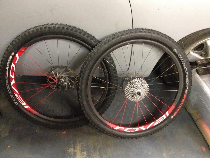 Roval Control Trail Sl 26 Quot Carbon Wheelset For Sale