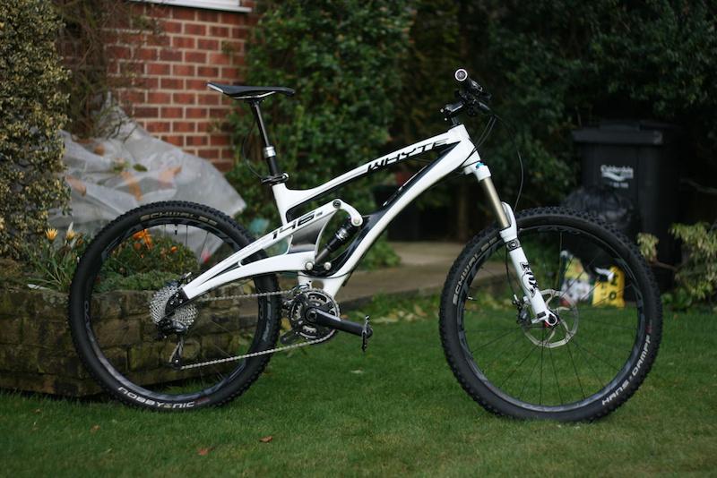 2014 whyte 146s medium 146 s carbon mountain bike for sale. Black Bedroom Furniture Sets. Home Design Ideas