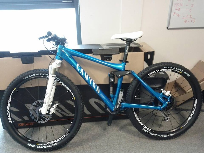 Reduced Price** Canyon Nerve XC 6W XS 120mm travel £850