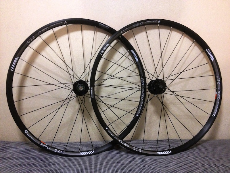 2014 brand new bontrager duster wheels wheelset 27 5 650b for sale. Black Bedroom Furniture Sets. Home Design Ideas
