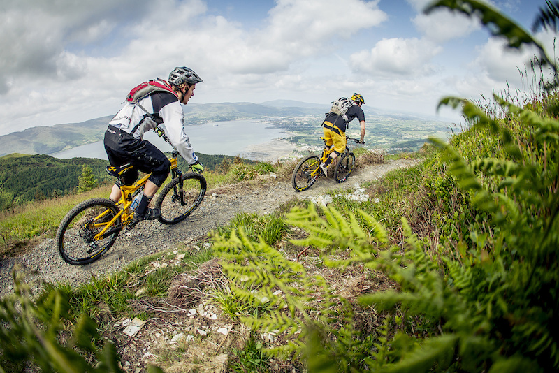 Rostrevor Mountain Bike Trails Northern Ireland Photo Laurence Crossman-Emms