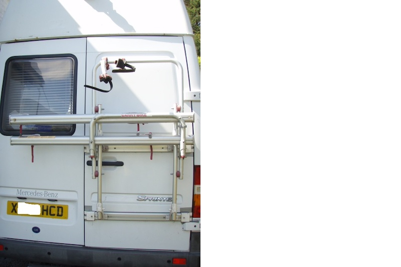 Fiamma Carry Bike 200dj Mercedes Sprinter Fiat Ducato