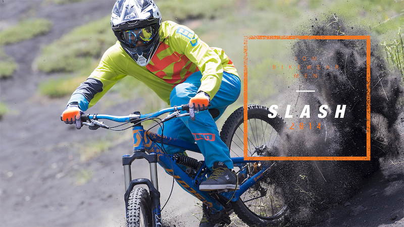 ION bike 2014 - Slash DH gear Intro