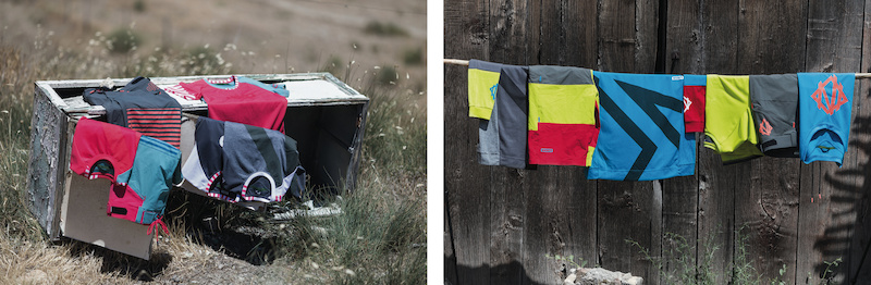 ION Flare women and Scrub men freeride line colors for 2014
