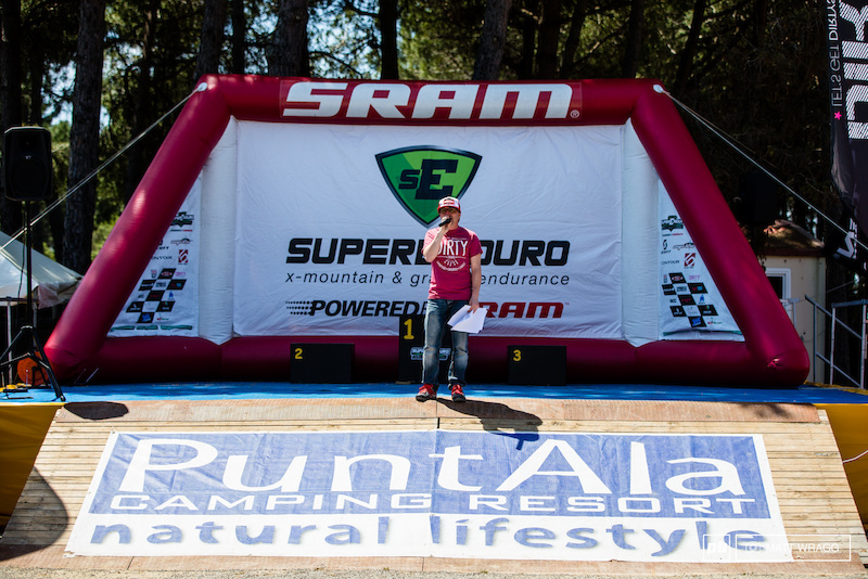 You know you re at a real enduro race when the only thing you hear for miles around is Enrico Guala s excitement on the microphone. It means its time to go racing.