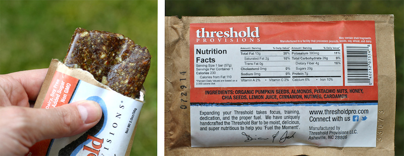 Threshold Provisions energy bar review test