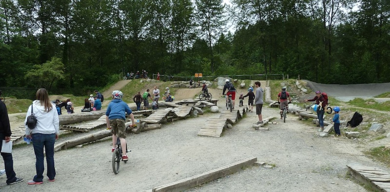 Skills Park at MEC Bikefest North Shore