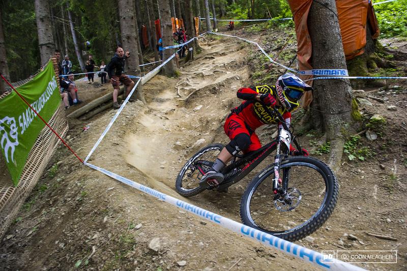 自行车速降世界杯第四站决赛回顾
