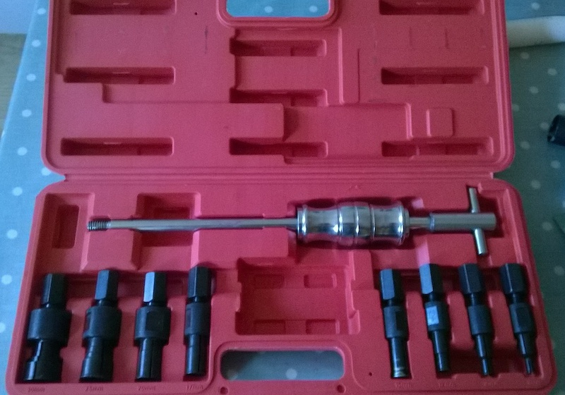 How To Use Bearing Puller Set : Superstars blind bearing puller set for sale