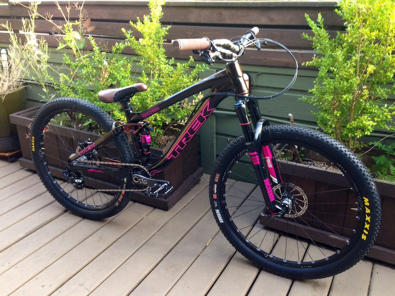 2014 Trek Ticket S Rad Company Limited Edition Build For