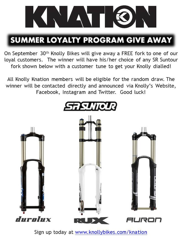 Knolly Bikes Announces Loyalty Program