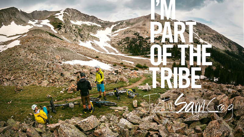 Riding the Colorado Trail. I'm Part of The Tribe.