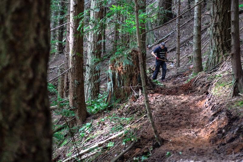 cuttin trail