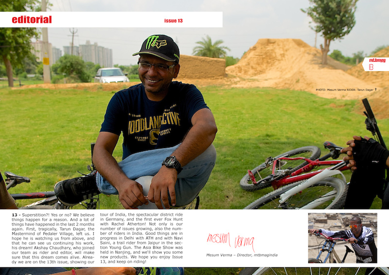 editorial - issue 13 mtbmagindia