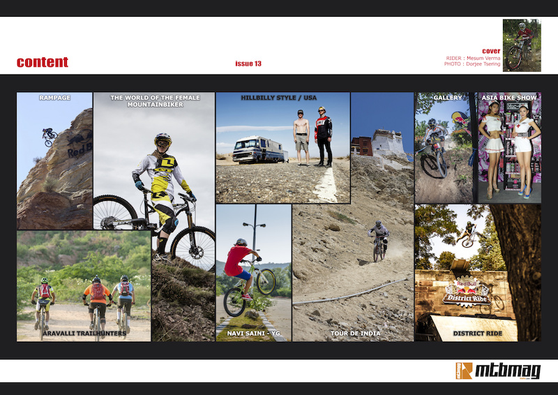 content - issue 13 mtbmagindia
