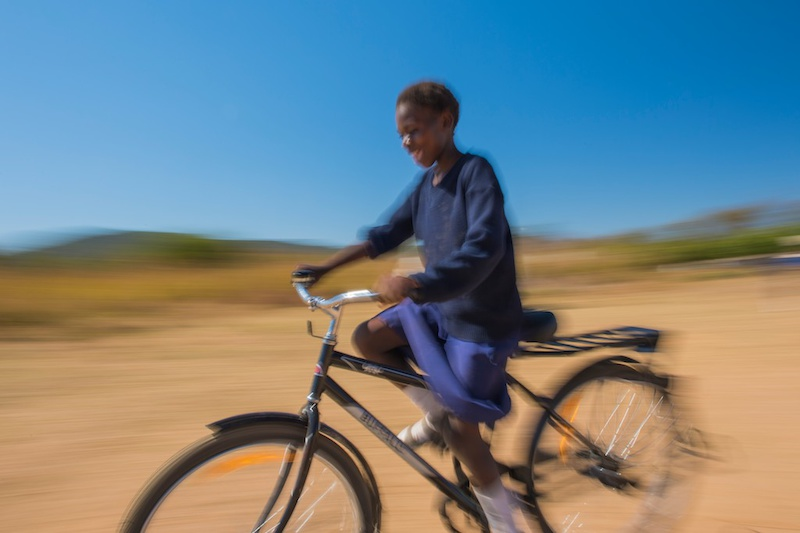 Donate Bikes To Africa Her bicycle