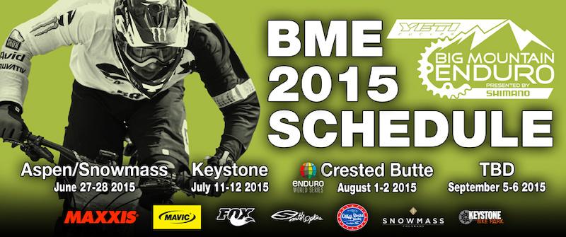 BME 2015 Sponsors