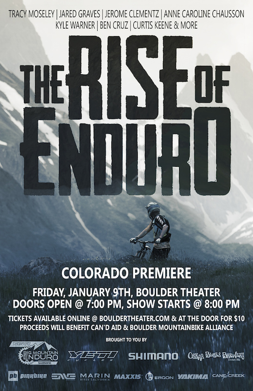 Colorado movie premier January 9 at Boulder Theater.