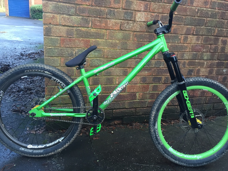 Awesome spank subrosa green wheels yeah want that