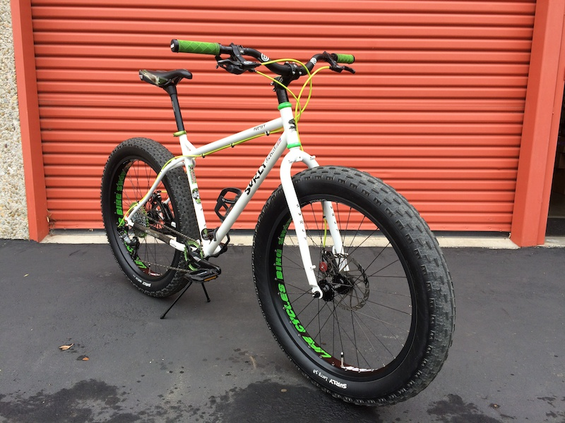 2012 Surly Pugsley Fat Bike 18 Quot 1x10 Speed For Sale