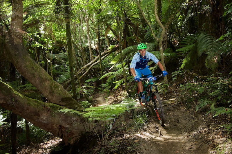 Not on a single speed just part of 3 months of action in Rotorua NZ. This time Enduro at the Rotorua Bike Festival in February. And hoping to get Geeza on a 1-speed for the 2015 NZ Singlespeed Champs on Sunday April 26... Photo Alick Saunders