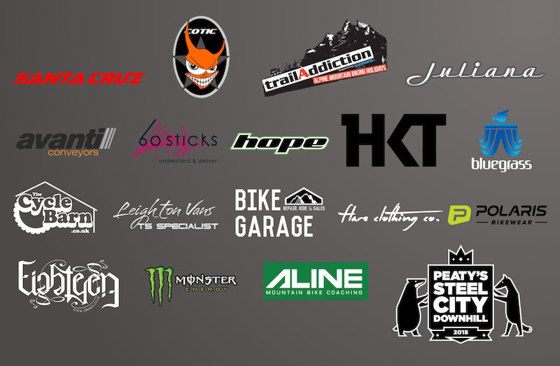 Steel City DH 2015 sponsors