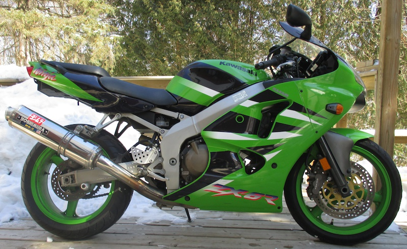 2001 kawasaki ninja zx6r upgraded for sale. Black Bedroom Furniture Sets. Home Design Ideas