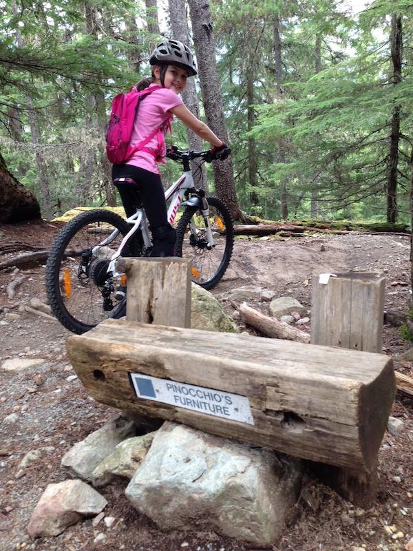 Pinocchio 39 s furniture mountain bike trail lost lake for A p furniture trail