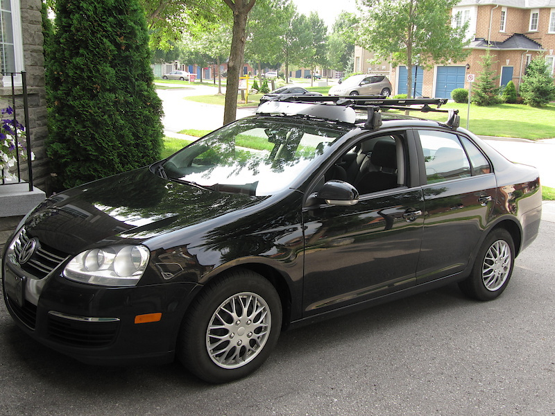 2007 Thule Yakima Roof Bike Rack For Mkv Vw Jetta Golf