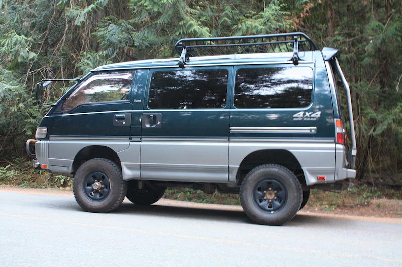 1992 Mitsubishi Delica 4x4 5 Speed Turbo Diesel For Sale