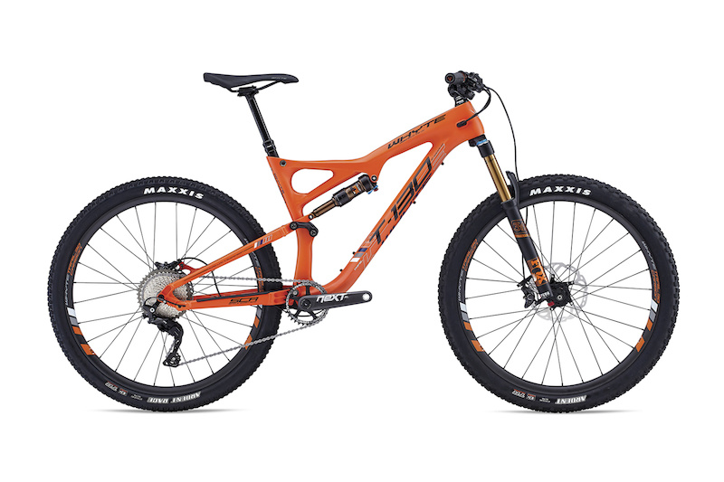 T-130 Carbon Works Retail 5 499.00 Spec Fox Shimano XT http www.whyteusa.bike collections trail products t-130-c