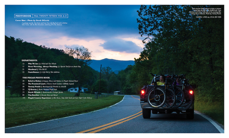 Freehub Magazine Vol. 6.3 - Table of Contents