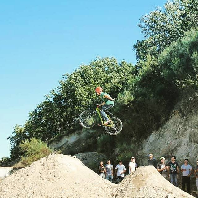 Places To Visit In Guarda Portugal: Gabriel Ângelo At Alvendre Dirt Jumps In Guarda, Portugal