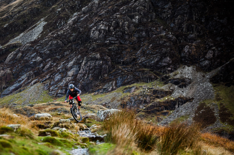 Tom Simpson descending Cadair Idris on the Edit