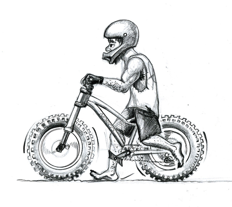 WAKIdesigns created a superb collection of artwork for the Fun amp Easy Bike Tricks eCourse on ryanleech.com