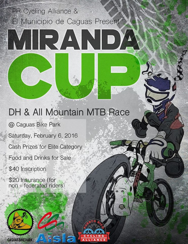 Miranda Cup at the Caguas Bike Park